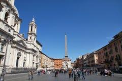 Rome - Piazza Navona Royalty-vrije Stock Fotografie