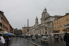 Rome Piazza Navona en Italie Photos stock
