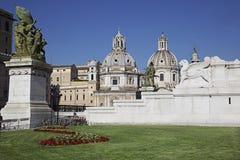 Rome, Piazza Venezia Stock Fotografie