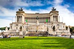 Rome, Piazza Venezia, Italy Stock Photography