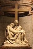 Rome - Pieta from Santa Maria di Pace church Stock Image