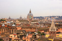 Rome from Pincio Royalty Free Stock Photos