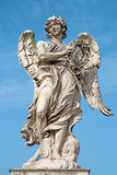 Rome - Ponte Sant'Angelo - Angels bridge - Angel with the crown of thorns G. L. Bernini and son Paolo Royalty Free Stock Photography