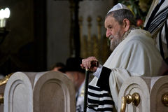 Rome/ Pope Benedictus XVI visit Synagogue of Rome Stock Photography