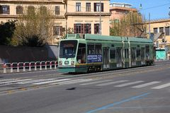 Rome public transport Royalty Free Stock Photos