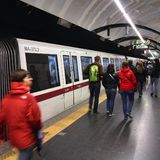 Rome public transportation Royalty Free Stock Images