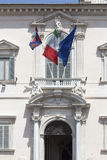 Rome, the Quirinal Palace, the official residence of the Preside Royalty Free Stock Photography