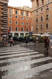 Rome Rain Royalty Free Stock Photos