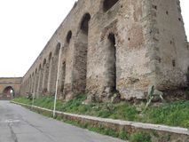 Rome Roman Aqueduct royalty-vrije stock fotografie
