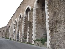 Rome The Roman Aqueduct stock image