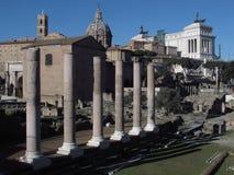 Rome Roman Forum royalty-vrije stock afbeelding