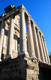 Rome, Roman Forum Stock Photo