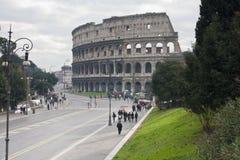 Rome, Roman Forum and Colosseum Stock Image