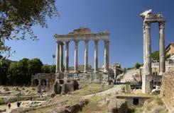 Rome - Roman Forum - Italië Stock Afbeeldingen
