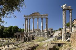 Rome - Roman Forum - Italy Stock Images