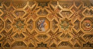 Rome - roof of basilica Santa Maria Maggiore Royalty Free Stock Photos