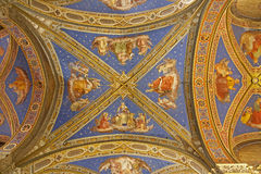 Rome - roof from Santa Maria sopra Minerva church Royalty Free Stock Photo