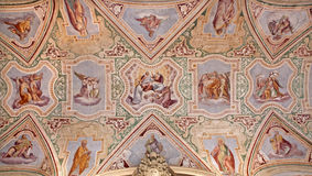 Rome - roof of vestibule from Lateran basilica Royalty Free Stock Photos