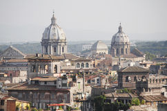 Rome roofs Royalty Free Stock Photography