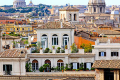 Rome rooftop Royalty Free Stock Photography