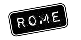 Rome rubber stamp. Grunge design with dust scratches. Effects can be easily removed for a clean, crisp look. Color is easily changed Stock Image
