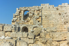 Rome ruins in Antalya Royalty Free Stock Photos