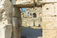 Rome ruins in Antalya Royalty Free Stock Photography