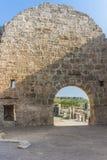 Rome ruins in Antalya Stock Photo