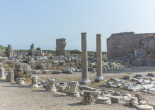 Rome ruins in Antalya Stock Photos