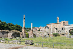 rome rzymskie ruiny Obraz Royalty Free
