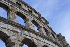 Rome's ancient Colosseum Stock Photos