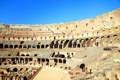 Rome's Colosseum royalty free stock photos