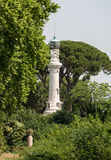 Rome`s lighthouse on Janiculum Hill. Rome, Royalty Free Stock Images