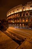 Rome 's nachts Coliseum Stock Fotografie