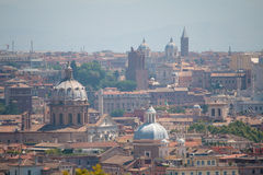 Rome's View from Gianicolo Royalty Free Stock Image