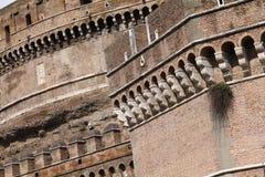 Rome - Saint Angel Castle Stock Image