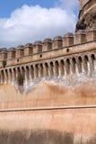 Rome - Saint Angel Castle Stock Photo
