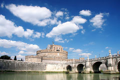 Rome, Saint Angelo Castle Stock Image