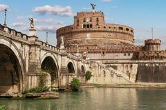 rome Saint Angelo de château images stock