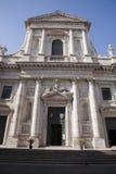 Rome - San Giovanni dei Fiorentini church Stock Image