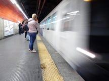 Rome - San Giovanni tunnelbanastation Arkivbild
