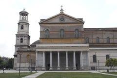 Rome - san paolo fouri le mura Stock Photos