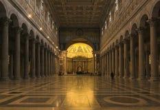 Rome - san paolo fouri le mura Stock Photography