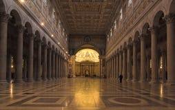 Rome - san paolo fouri le mura Stock Images