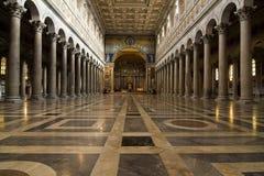 Rome - san paolo fouri le mura Stock Image