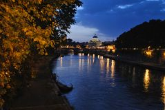 Rome San Pietro Stock Photography