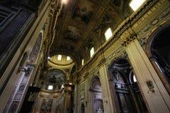 Rome - Sant Andrea Della Valle. Rome, Italy - famous basilica Sant Andrea Della Valle. Church interior Royalty Free Stock Image