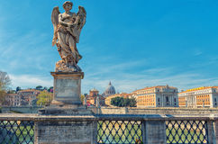 Rome - Sant'Angelo's bridge Royalty Free Stock Photos