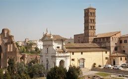 Rome - Santa Francesca Romana church Royalty Free Stock Photos