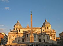 Rome Santa Maria Maggiore Stock Photography